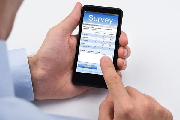 Filling out Survey Forms