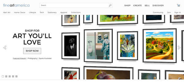 Selling Photos and Paintings Online